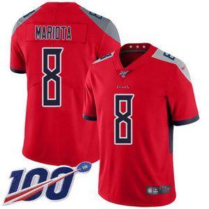 Mens Titans Marcus Mariota 100th Season Jersey